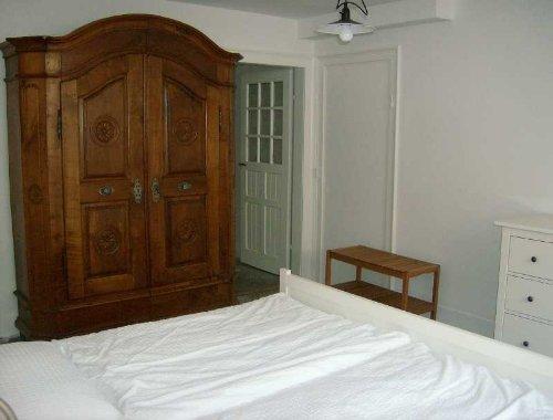 Schlafzimmer vom Fenster aus