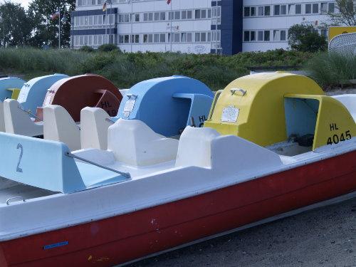 Der Bootsverleih ist vor der T�r