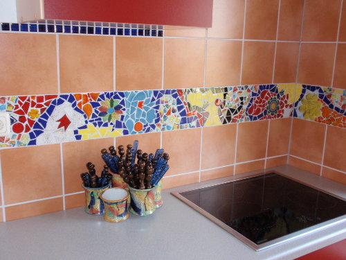 Detail der Küche