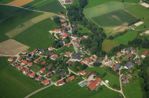 Rettenbach aus der Luft