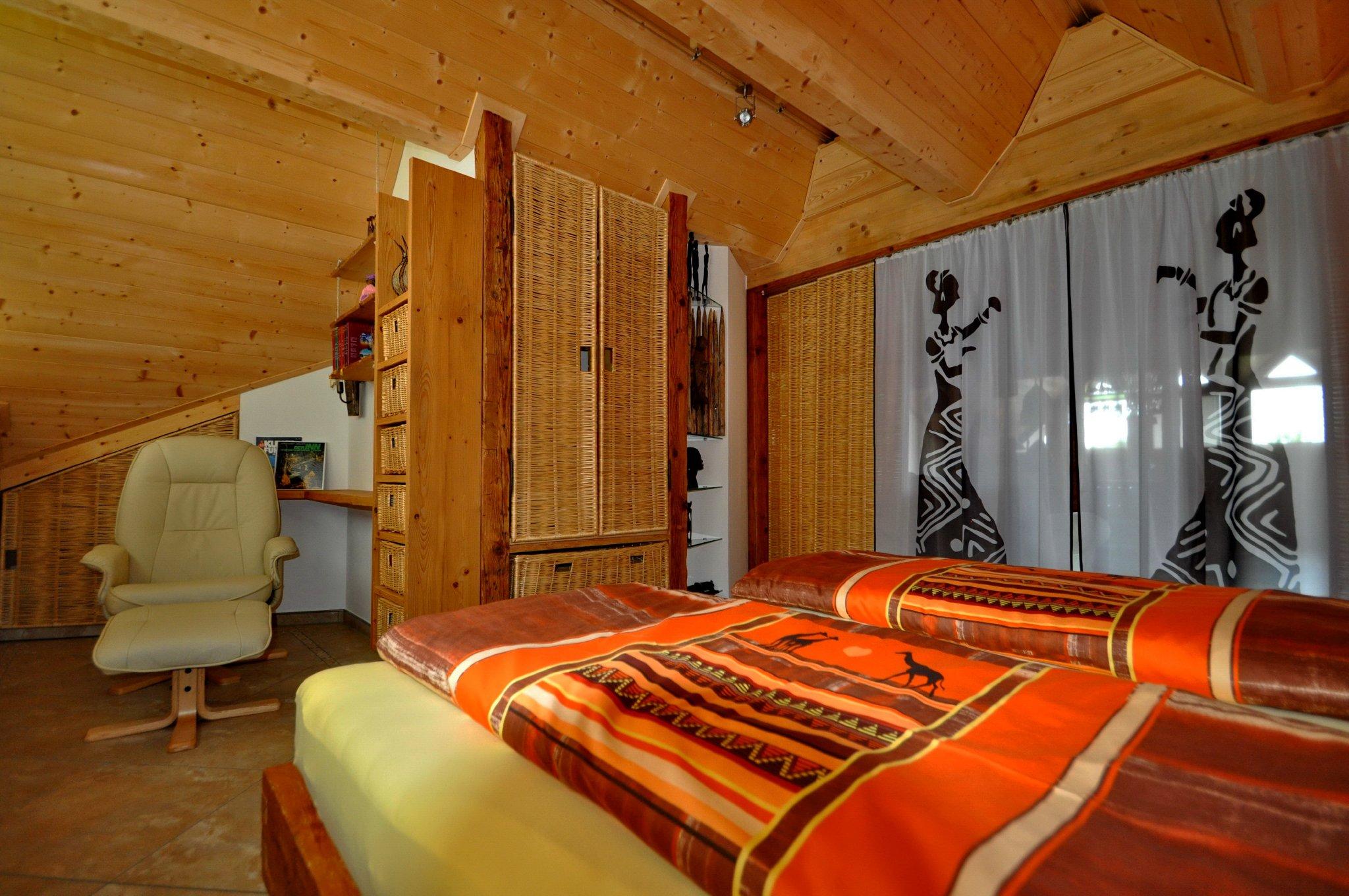 Das romantische zweite Schlafzimmer