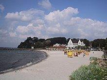 Ihr eigener Strandkorb - direkt am Meer