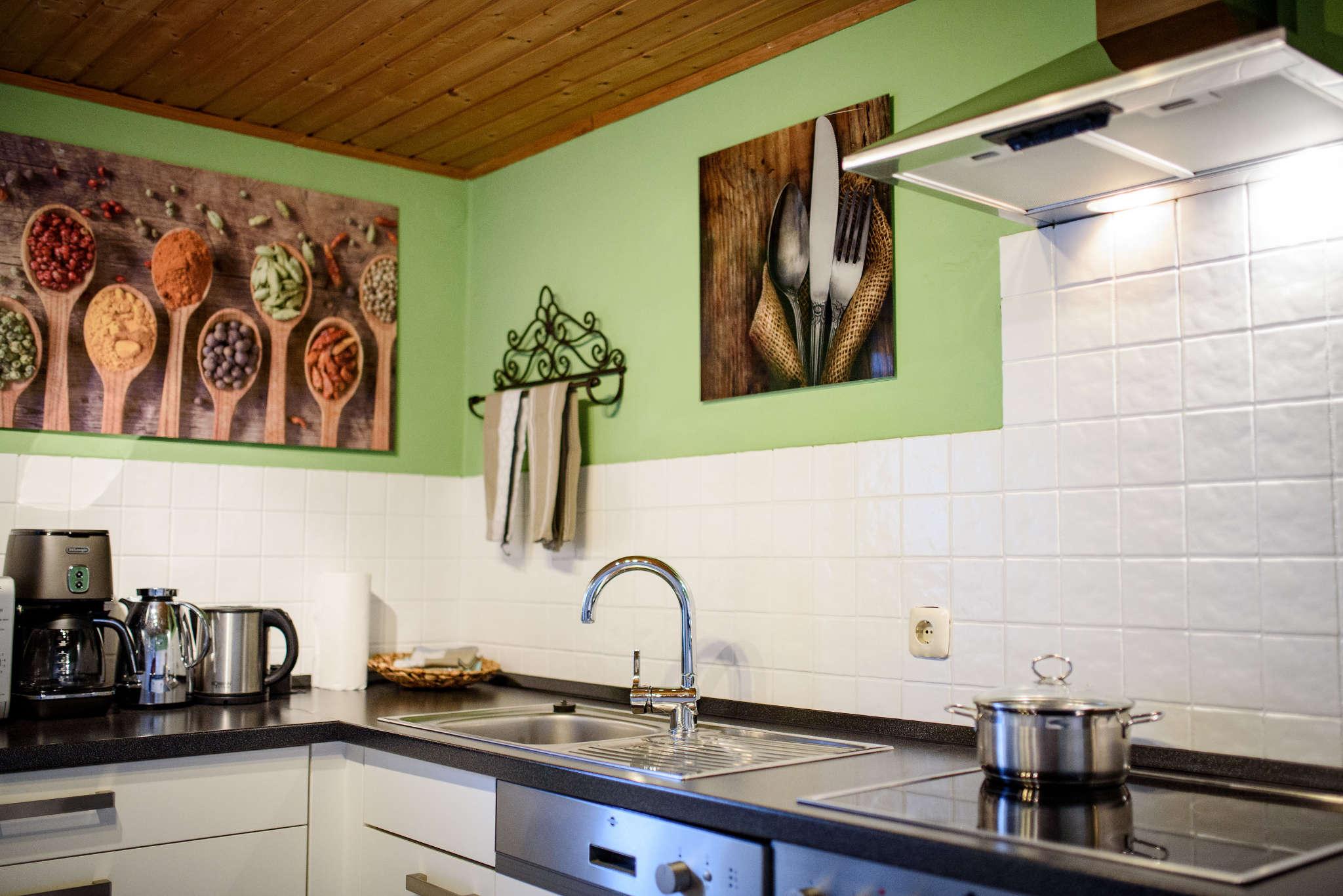 Eine moderne, voll ausgestattete Küche!