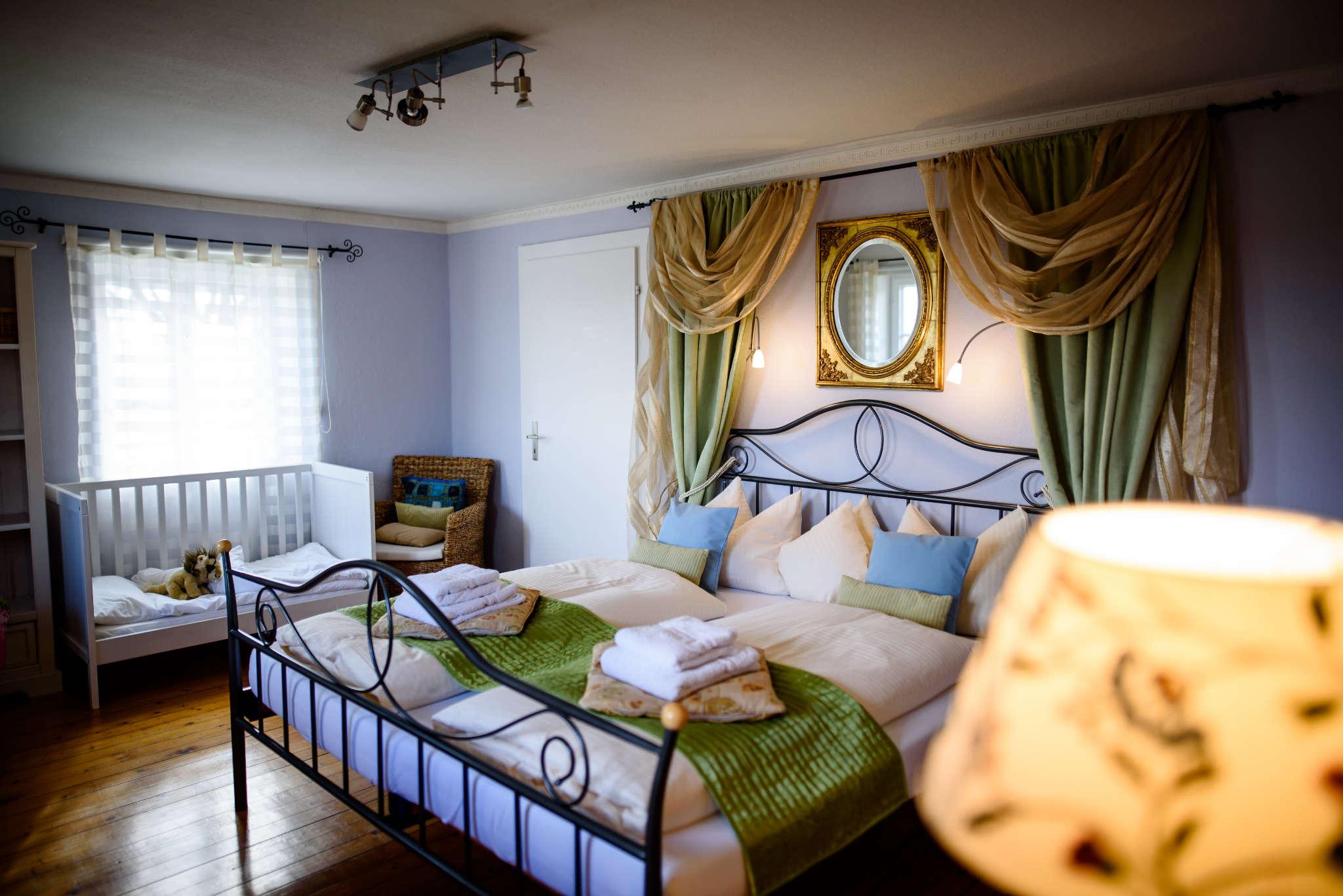 Hübsche Schlafzimmer!