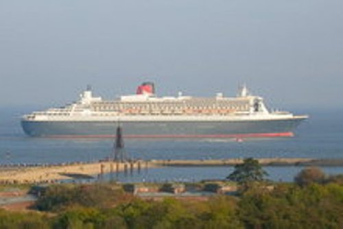 Cuxhaven mit Kugelbake