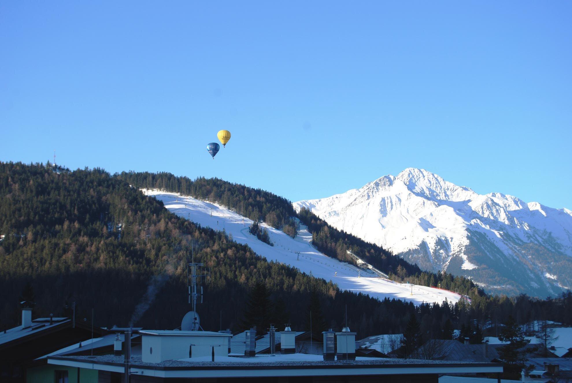 Wohnzimmer Appartement Alpenblick