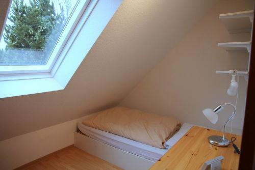 Das zweite Schlafzimmer/Einzelbett