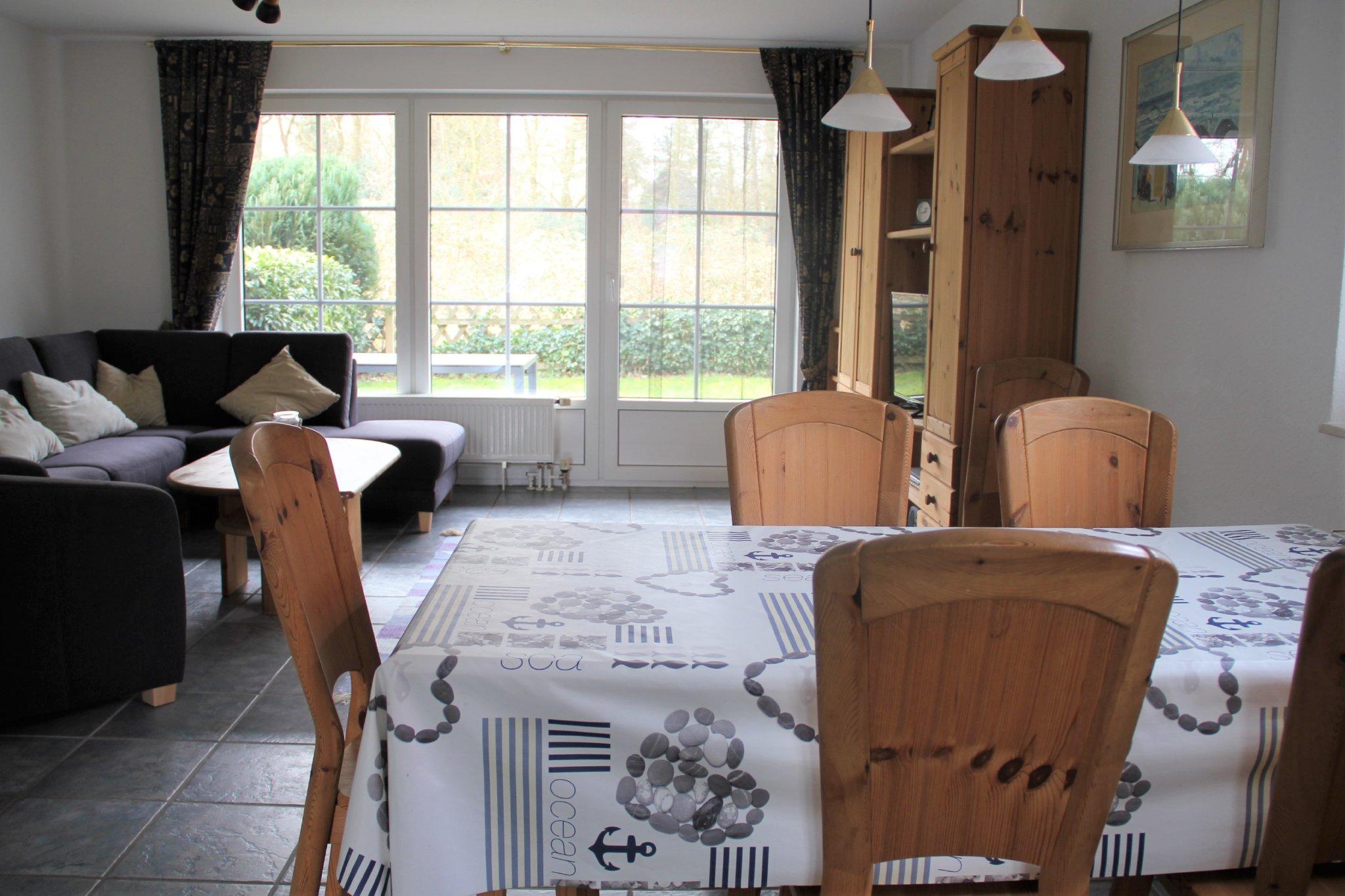 Die gemütliche Sitzecke im Wohnbereich