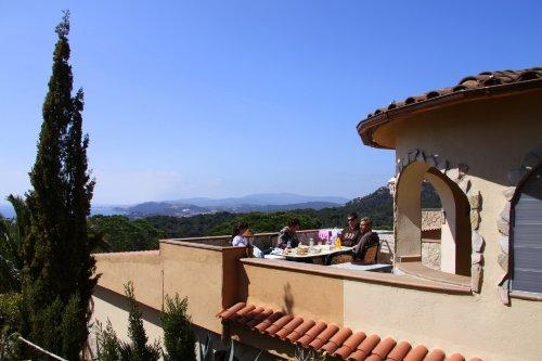 Wohnung 1 große Terrasse mit Meerblick