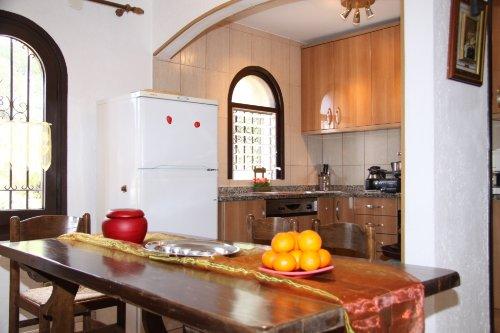 Wohnung 4 Esszimmer und offene Küche