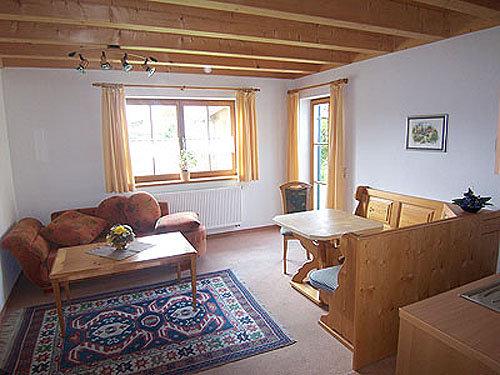 Wohnbereich mit Bettcouch
