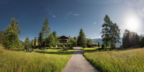 Panoramabild unserer Ferienanlage