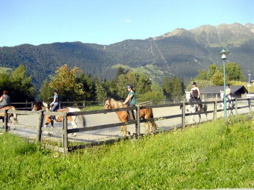 Reitplatz mit Reiterstüberl