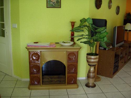 Elektrokamin im Wohnzimmer