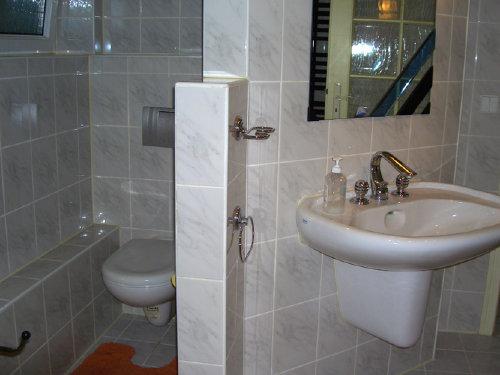 abgetrennter WC-Bereich