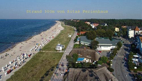 Strand 300m von Ritas Ferienhaus