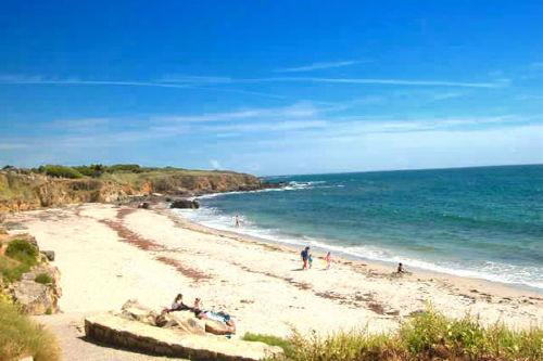 Strand bei Moelan