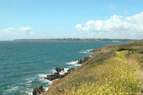 Küste Bei Moelan sur Mer