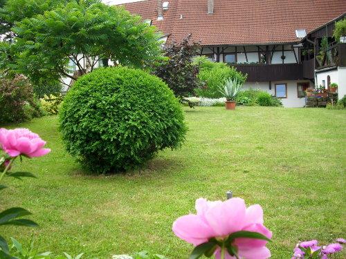 Haus v.hintenFachwerkhaus m. Laubengang