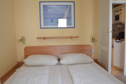 Doppelbett in Kojenart