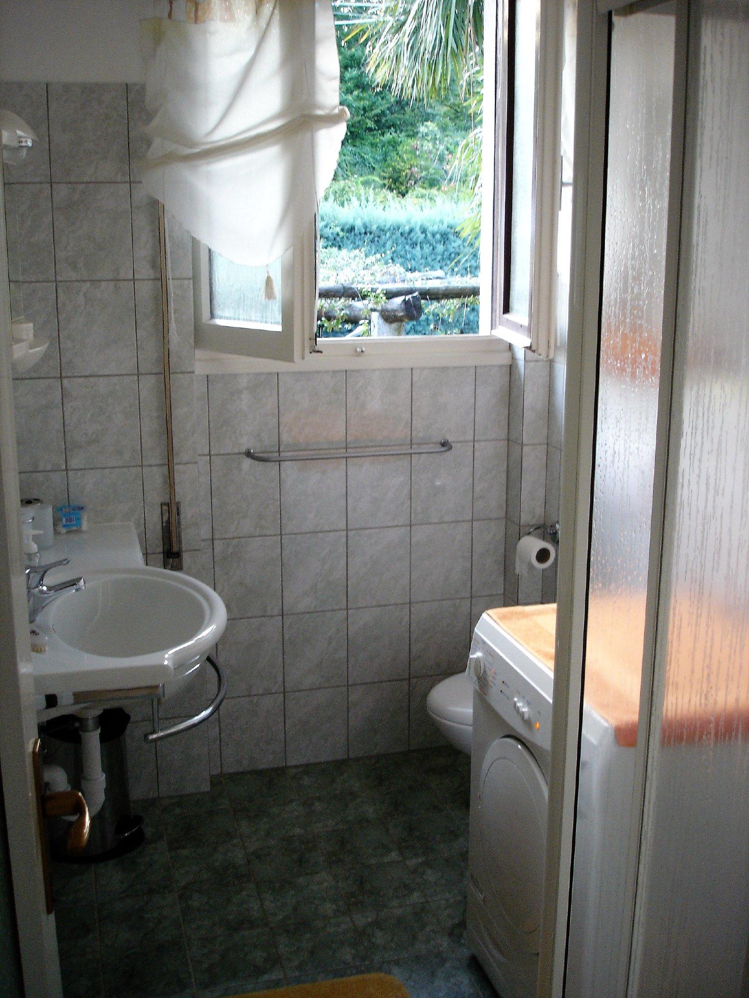 Teil des Duschbades