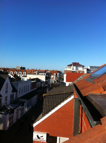 Minimeerblick vom Balkon