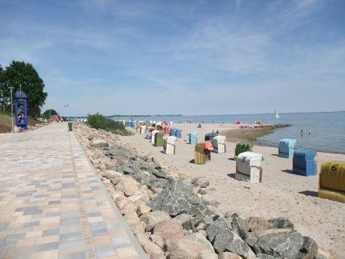 Strandkorbvermietung in der Nähe