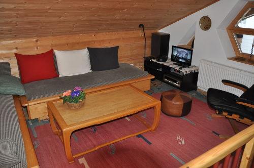 Galeriezimmer, Wohn- und Schlafbereich
