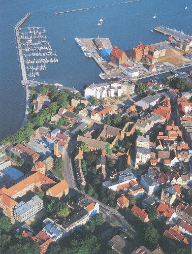 Umgebung von Ferienwohnung Stralsund
