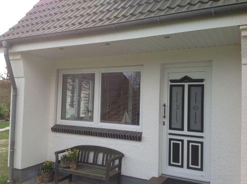 Eingang zur kleinen Haushälfte