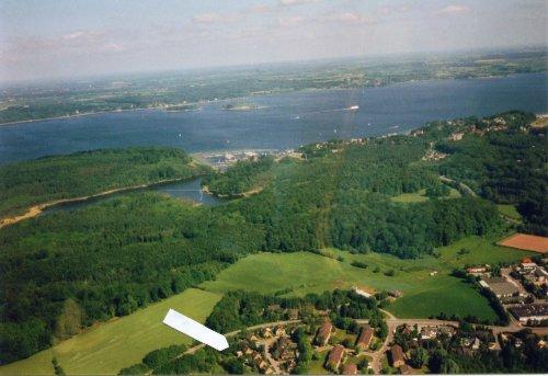 Flensburger Förde mit Ochseninseln (DK)