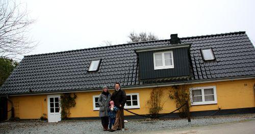 Unser kleines gelbes Haus
