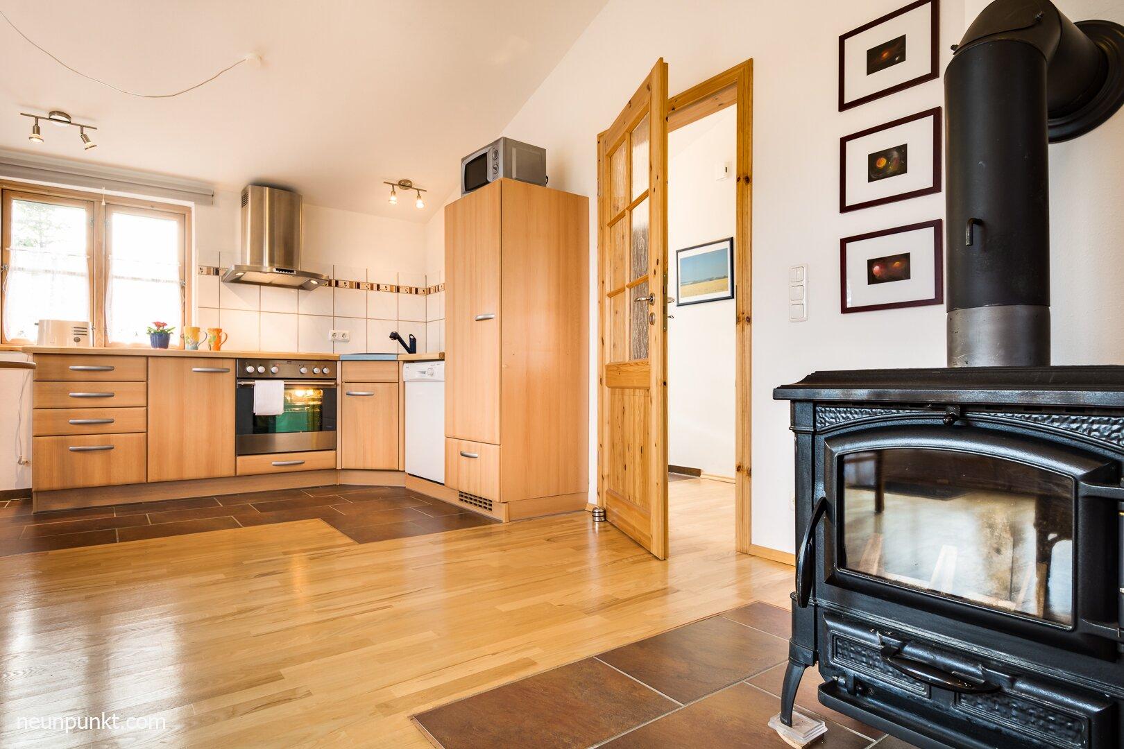 Doppelschlafzimmer mit Einzelbett
