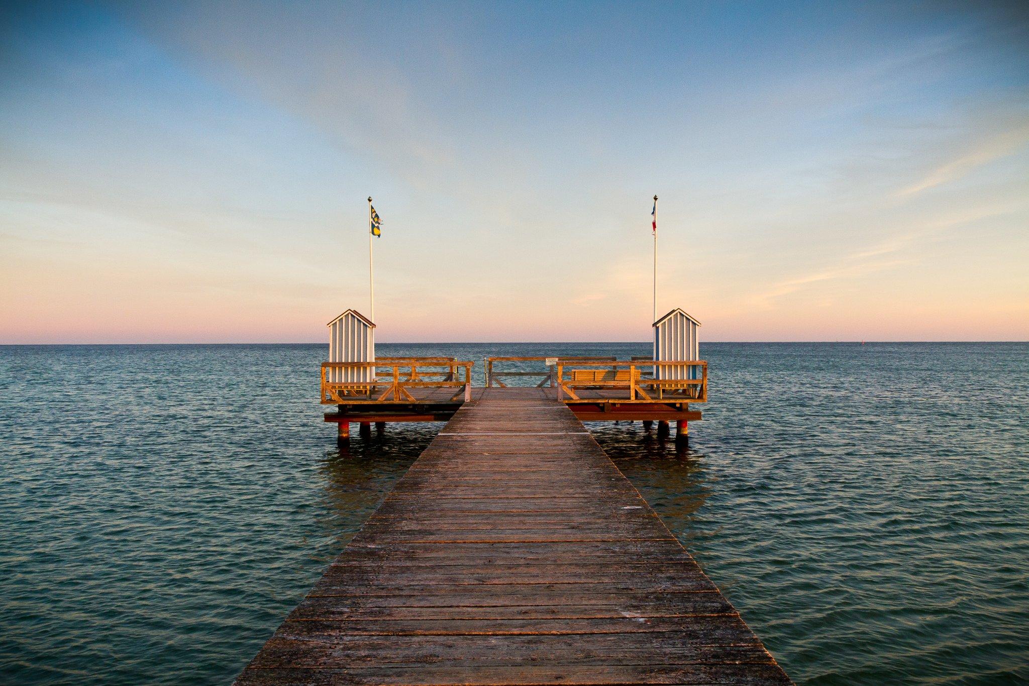 Strand für Muschlsucher und Familien