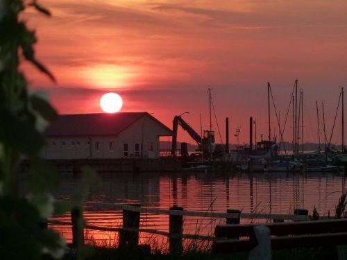 Sonnenuntergang Wackerballig