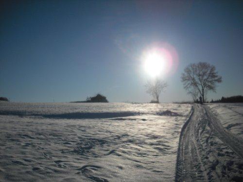 Umgebung im Winter