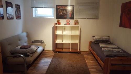 2.Schlafzimmer, Einzelbett & Schlafcouch