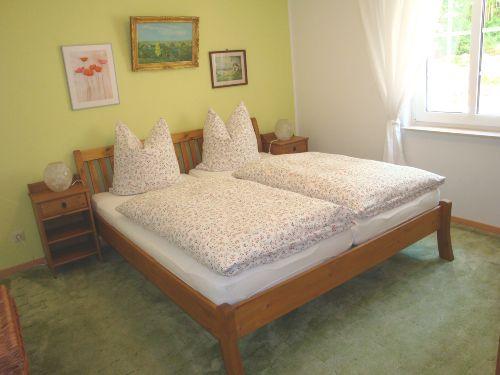Schlafzimmer - Komfortdoppelbett