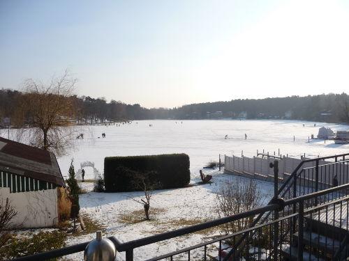 Der Stölpchensee im Winter - ein Idyll