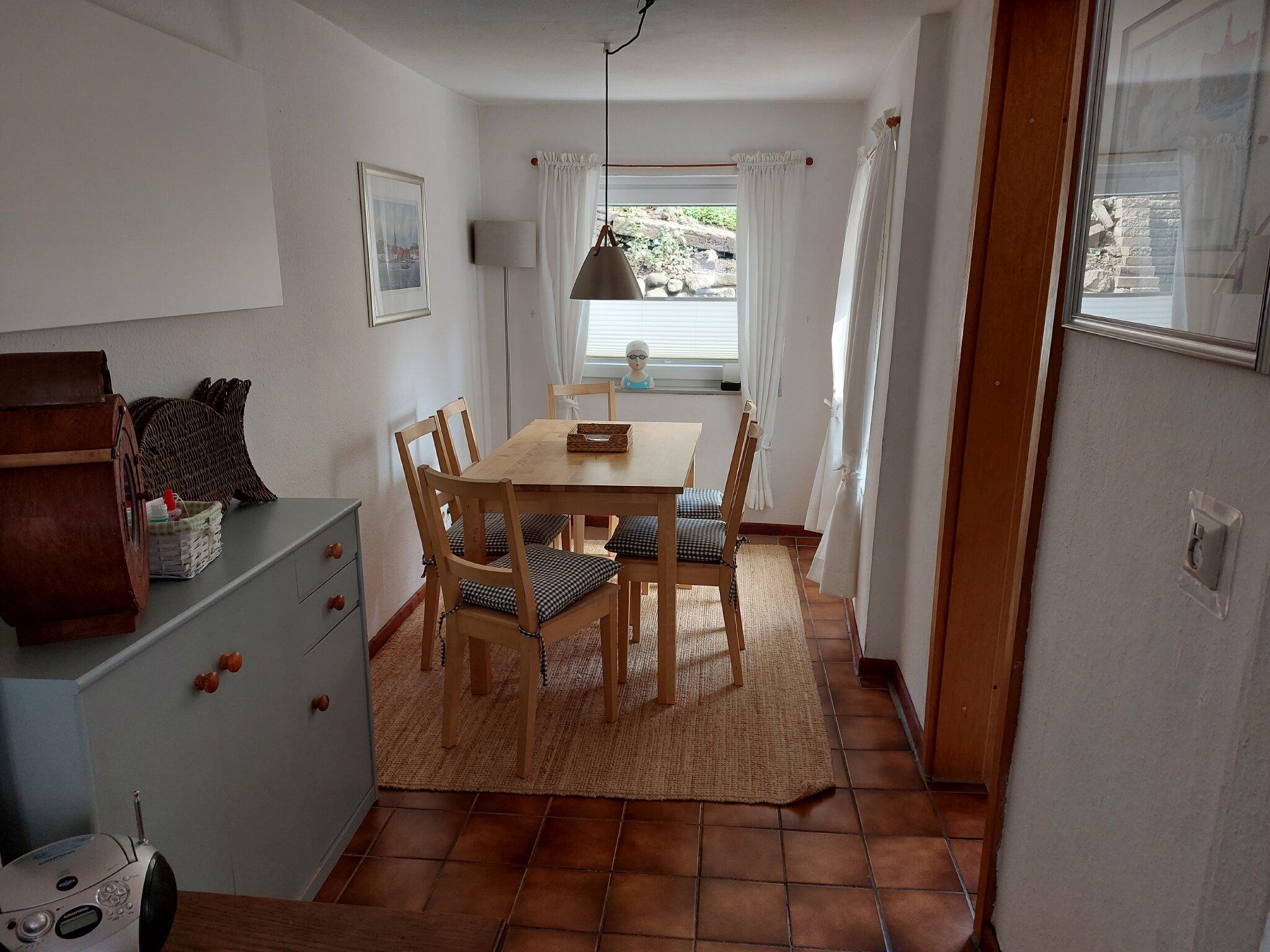 Schlafbereich im Dachgeschoss