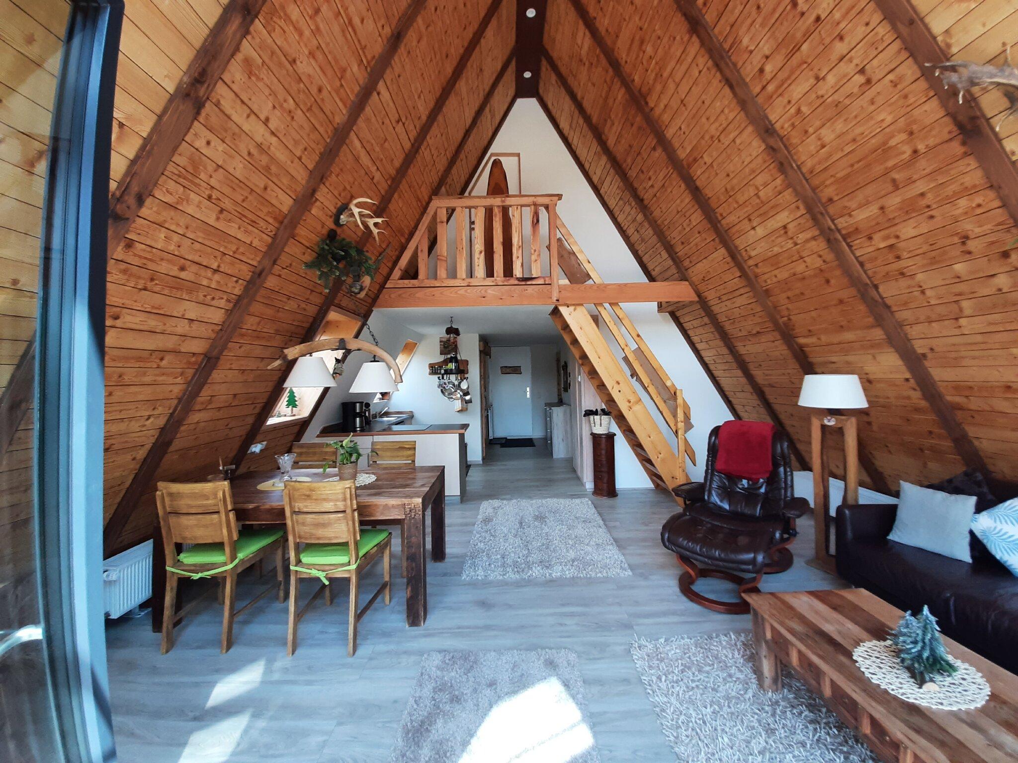 Das 1-Bett Zimmer im Erdgeschoss