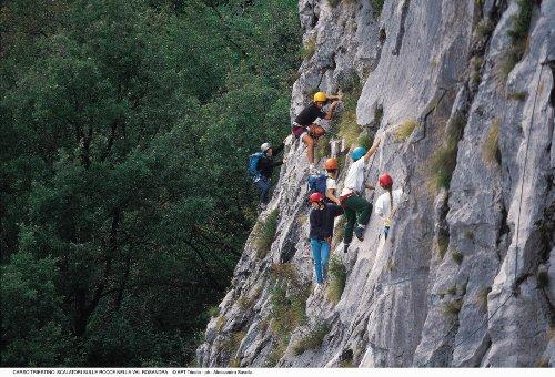 Klettern im Rosandratal