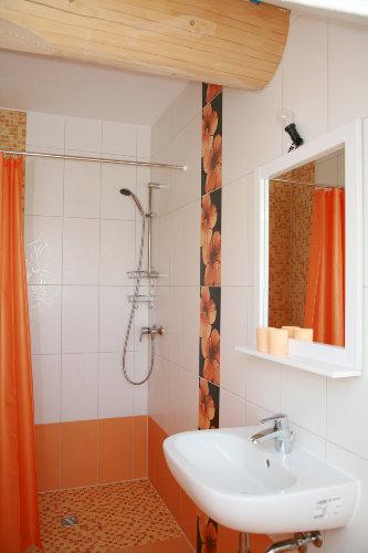 Rand-und rutschfreie Dusche