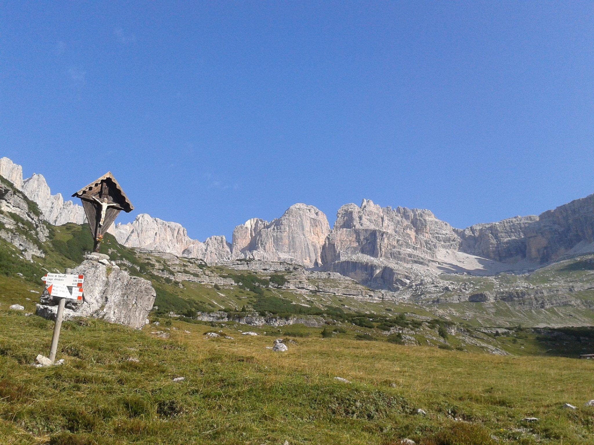 Singen auf dem Berggipfel