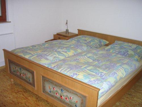 Schlafzimmer der EG-Wohnung