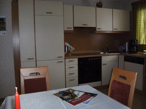 Wohnküche mit Spülmaschine