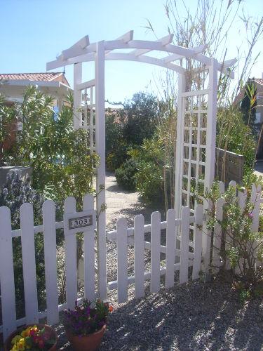 Zugang zu Haus und Terrasse