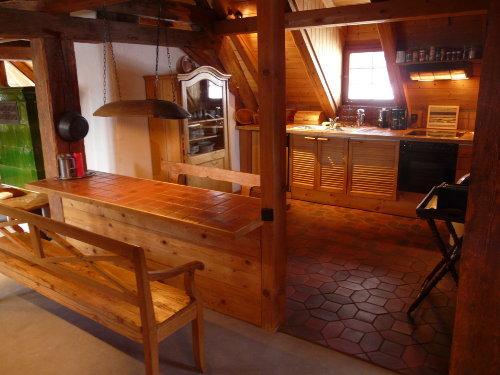 Küche und Frühstücksplatz