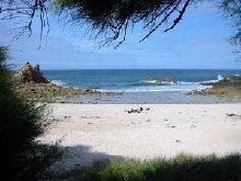 Strand ca 2,5 km vom Haus