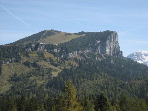 Skigebiet Steinplatte im Sommer